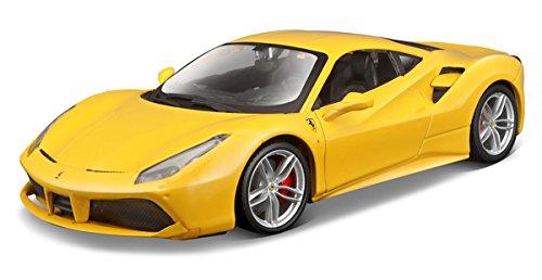 Ferrari 488 GTB Yellow 1/24 by Bburago - Ferrari Yellow