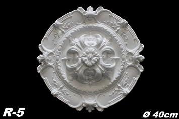 Deckenrosette Für Kronleuchter ~ 1 rosette stuckrosette dekorrosette deckenrosette decke dekor stuck