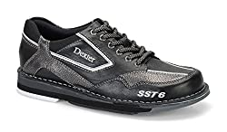 Dexter Sst 6 Lz Left Handed Bowling Shoes, Blackalloy, 8.0