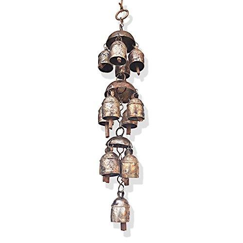 De Kulture Works Bell Metal Chandelier Wind Chime 14.5X2....