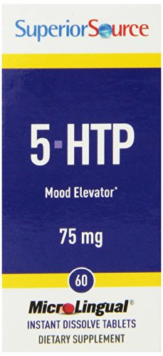 Superior Source 5-HTP suppléments nutritionnels, 75 mg, 60 comte
