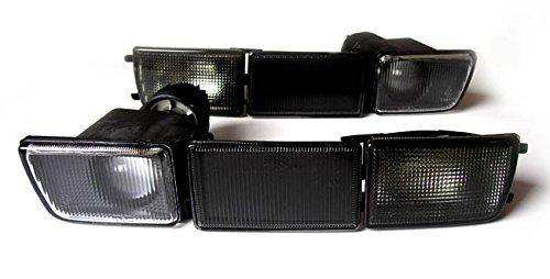 Nebelscheinwerfer Fassung Front- Blinker Blinkleuchten Blenden Leuchtmittel Schwarz Links+Rechts