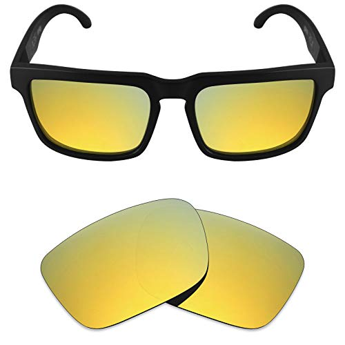 (Mryok Polarized Replacement Lenses for Spy Optic Helm - 24K Gold)