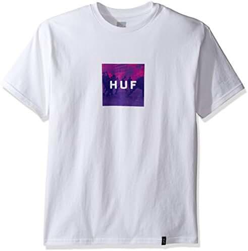HUF Men's Riot Box Logo Tee