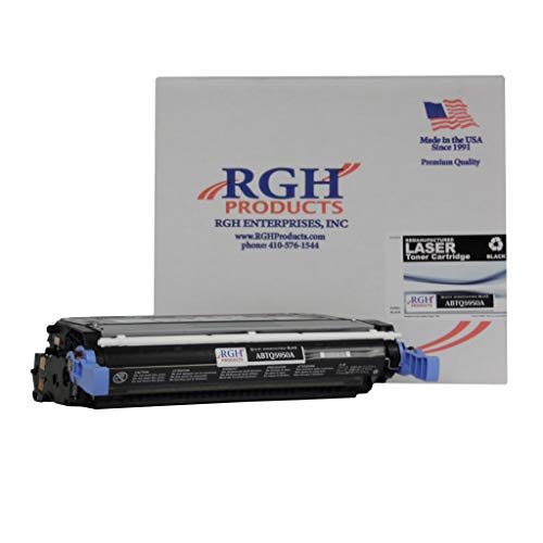 RGH Products Remanufactured ABTQ5950A Black Toner Cartridge Replacement for HP Q5950A / 643A