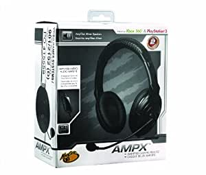 Mad Catz - Auriculares Ampx Amplified Gaming (PS3, Xbox 360, PC, Mac)