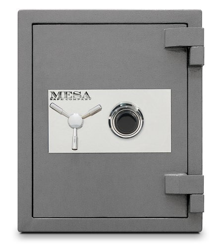 Mesa-Safe-MSC2520C-High-Security-Burglary-Fire-Safe-All-Steel-with-Combination-Lock-30-Cubic-Feet-Silver