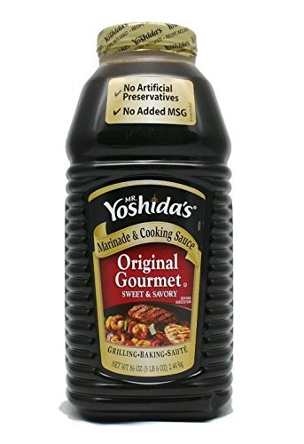 Mr. Yoshida's Original Gourmet Sauce 1 Pack (86 Ounce)