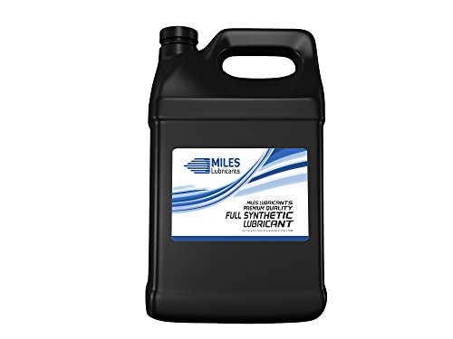 - MILES LUBRICANTS MSF1564008 Sb Comp Oil Plus ISO 100 Synthetic Blend Rotary Compressor Fluid, 4 gal (Pack of 4)
