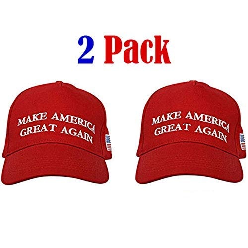 Make America Great Again Hat [2 Pack], Donald