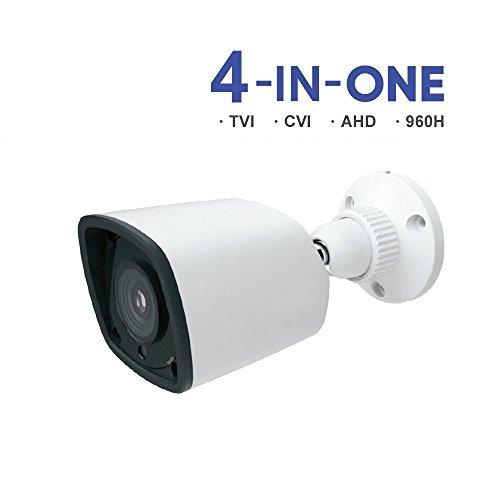 HDVD 1080p bullet camera 2mp TVI/AHD/CVI/960H 4 in 1 3.6mm wide angel lens night vision up to 60ft Surveillance Cameras [並行輸入品] B07CRYD4PK
