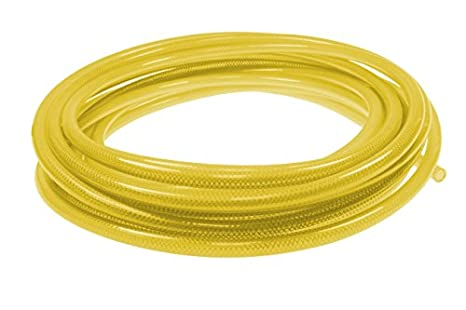 25 Length with 1//4 Industrial Coupler /& Connector Coilhose Pneumatics PFE4025TYS15X Flexeel Reinforced Polyurethane Air Hose Transparent Yellow 1//4 ID 25/' Length with 1//4 Industrial Coupler /& Connector Coilhose Pneumatics Inc. 1//4 ID