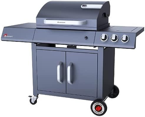 Landmann 12745 Barbecue à Gaz Avec 2 Brûleurs Infrarouge 1