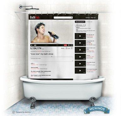 youtube shower curtain - 7