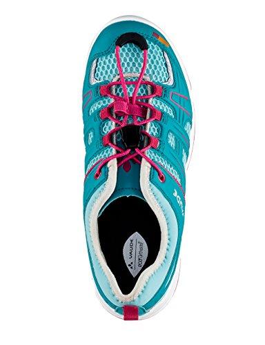 VAUDE Kids Splasher Ii - Zapatillas de senderismo Unisex Niños Turquesa (Icewater)