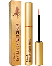 VieBeauti Premium Eyelash Growth Serum And Eyebrow Enhancement Formula, Gold Packaging, 0.1 Fl. Oz.