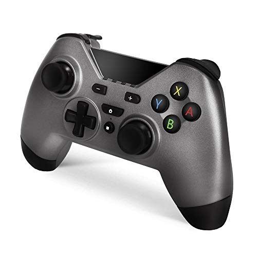 Woot Wireless Pro Controller for Nintendo Switch Supported with Bluetooth Wired Nintendo Switch NS PC and Android,Wireless Pro Controller Gaming Gamepad Joypad Compatible with Nintendo Switch consoles (Best Controller Supported Android Games)