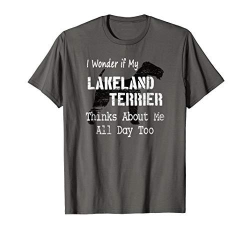 Lakeland Terrier Shirt Funny Gift for Terrier Dog Lovers