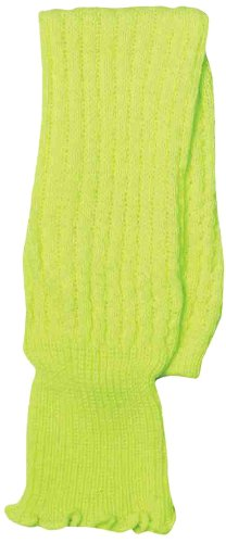 Forum Novelties Neon Leg Warmers, Green, One Size (Fancy Dress 80s Style)