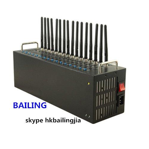 4G LTE FDD 16 Port Modem Pool USB Port Quectel EC25 Module IMEI Changeable