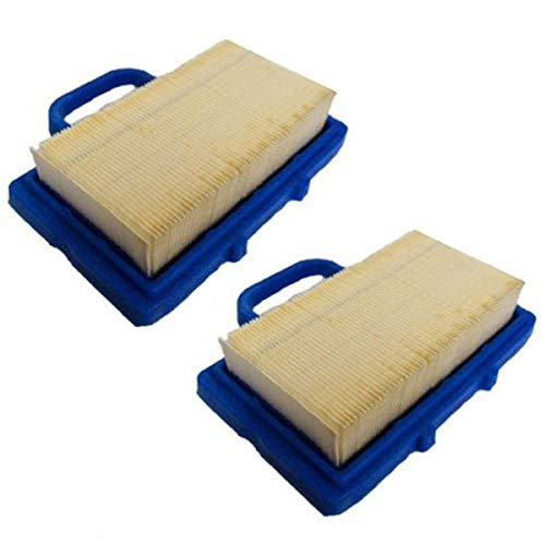 2PK Air Filter for Briggs & Stratton Intek V-Twin Engine B&S Cleaner 5408 791201 ()