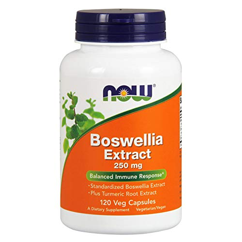NOW Boswellia Extract 250 mg,120 Veg Capsules Review