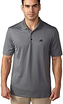 adidas Golf Mens Branded Performance Polo Shirt, Vista Grey ...
