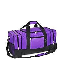 Everest Crossover Duffel Bag - Large, Dark Purple, One Size
