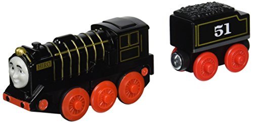 Wooden Thomas Tank Engine - Thomas & Friends Fisher-Price Wooden Railway, Hiro - Battery Operated
