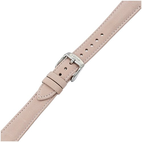2a28f6378 Fossil Women's S161015 White Leather 16mm Watch Strap - Import It All