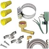 CERTIFIED APPLIANCE DWKIT1, Dishwasher Installation Kit