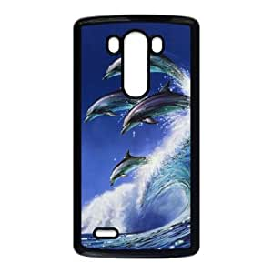 Dolphin LG G3 Cell Phone Case Black Gift pjz003_3215016