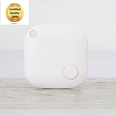 Best Key Finder, Cell Phone Locator, Dog Tracker & Car Finder, Includes Replaceable Battery & Anti-Lost Alarm Feature, Find Your Belongings w/ Great Vibez Smart Finder Bluetooth Tracking Device! by Great Vibez