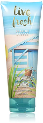 Bath & Body Works Live Fresh Seaside Breeze Ultra Shea Body Cream, 8 Ounce
