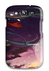 Special CaseyKBrown Skin Case Cover For Galaxy S3, Popular Hatsune Miku - Vocaloid Phone Case