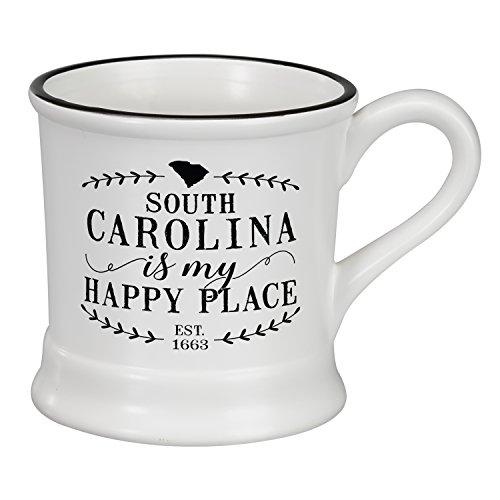 Occasionally Made O-HSS-MUG-SC 14oz South Carolina Ceramic (South Carolina Coffee Mug)