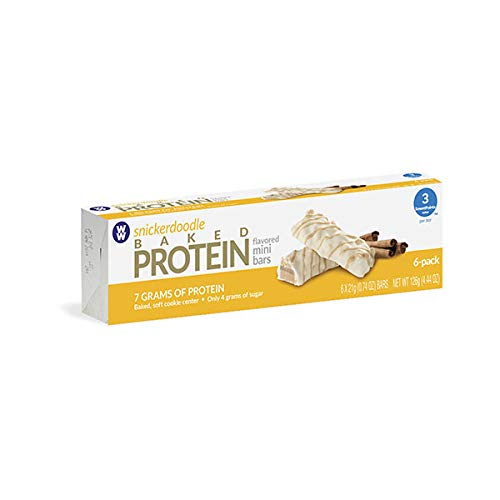 Weight Watchers Snickerdoodle Baked Protein Mini Bar