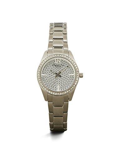 Kenneth Cole New York Women's KC4978 Classic Round Stone Dial Bezel Bracelet Watch