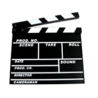 Ex-Pro Clapper Board TV Film Movie - Black