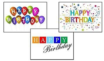 Amazon birthday greeting card assortment vp1601 business birthday greeting card assortment vp1601 business greeting cards featuring 3 different business birthday cards m4hsunfo