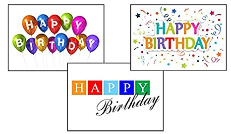 Amazon birthday greeting card assortment vp1601 greeting birthday greeting card assortment vp1601 greeting cards featuring 3 different business birthday cards colourmoves