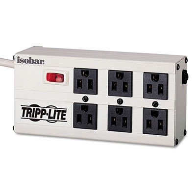 Tripp Lite Isobar ISOBAR6 6 ft. 6 Outlets 3330 Joules Surge