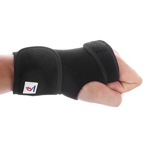 Wrist Brace, Mamada [ 1 Pair ] Adjustable Universal Support Wrist Wrap Tendonitis, Wrist Pain & Sports Injuries Removable Splint (Left&Right)
