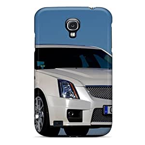 Shock Absorbent Hard Cell-phone Cases For Samsung Galaxy S4 (dPX22468foCy) Customized Attractive Cadillac Cts V Sport Wagon 2011 Pattern
