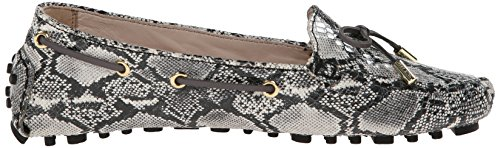 Cole Haan Womens Cary Moccasin Black/Grey Snake Print CINPc