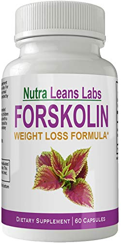 Nutra Leans Labs Forskolin for Weight Loss Pills Tablets Supplement - Capsules with Natural High Quality Forskolin Extract by nutra4health LLC (Image #3)