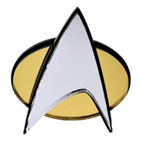 New Horizons Production Star Trek TNG Communicator Badge Adjustable Cosplay Plastic Ring ()