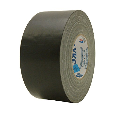 """Polyken 231/BLK30160 231 Military Grade Duct Tape: 3"""" x 60 y"""