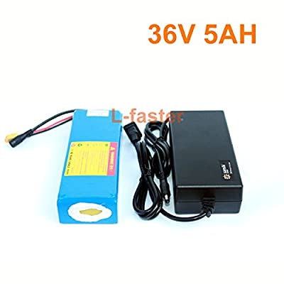 36V 5Ah Electric Skateboard Battery Pack Electric 4 Wheels Board Lithium Battery 36V 18650 Battery Pack Electric Scooter Battery (Battery + Charger) : Sports & Outdoors