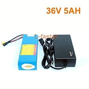 Amazon.com: 36 V 5 Ah Electric Skateboard battery Pack ...